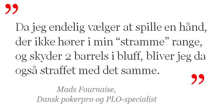 Mads Fournaise citat
